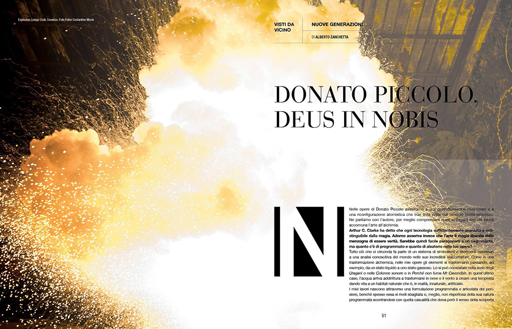 For Magazine Sofà – Donato Piccolo\Deus in nobis (4 images)