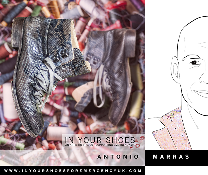 Antonio Marras (Emergency UK) (1 image)